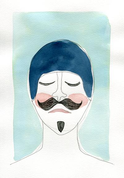 Man in swimcap